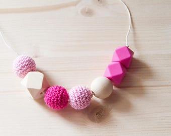 Pattern necklace Orchid