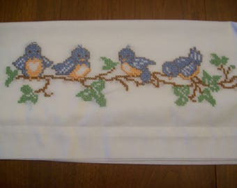 Birds On A Branch Pillowcases, nature, gift, birthday, holiday, present