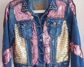 Bombshell Multi-Colored Sequin Hollister Jacket!