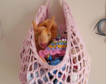 Medium image of toy hammock crochet pattern