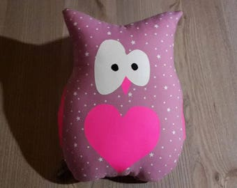 louisette violet OWL plush