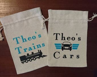 Personalised Travel Toy Bags