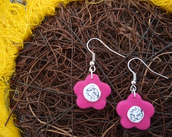FLORAL ROSE FLOWER COLLECTION EARRINGS