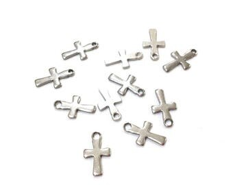 X 5 cross stainless steel 12X7mm ❤ ❤