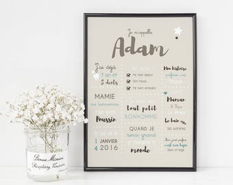 Poster 1 - personalized kids Poster