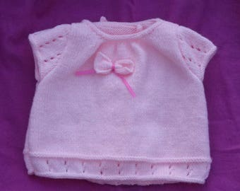 Pink sleeves jacket short size 3 months