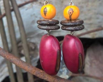 v earrings ' the spring coming