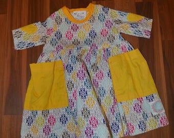 Heart Patch Dress Size Newborn