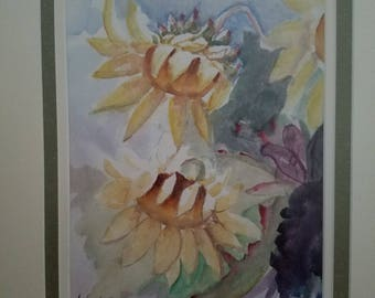 Bow My Head (original watercolor)
