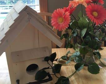 Aspen & Cedar Birdhouse