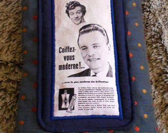 Vintage Brilliantine advertising Tablet cover