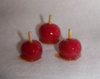 apples in polymer fimo polymer clay