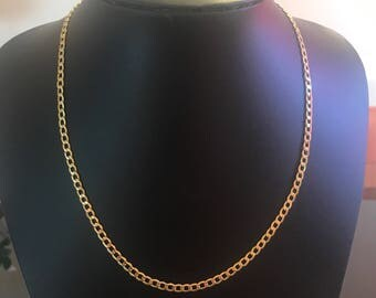 14k Curb Link Chain.  Brand new!