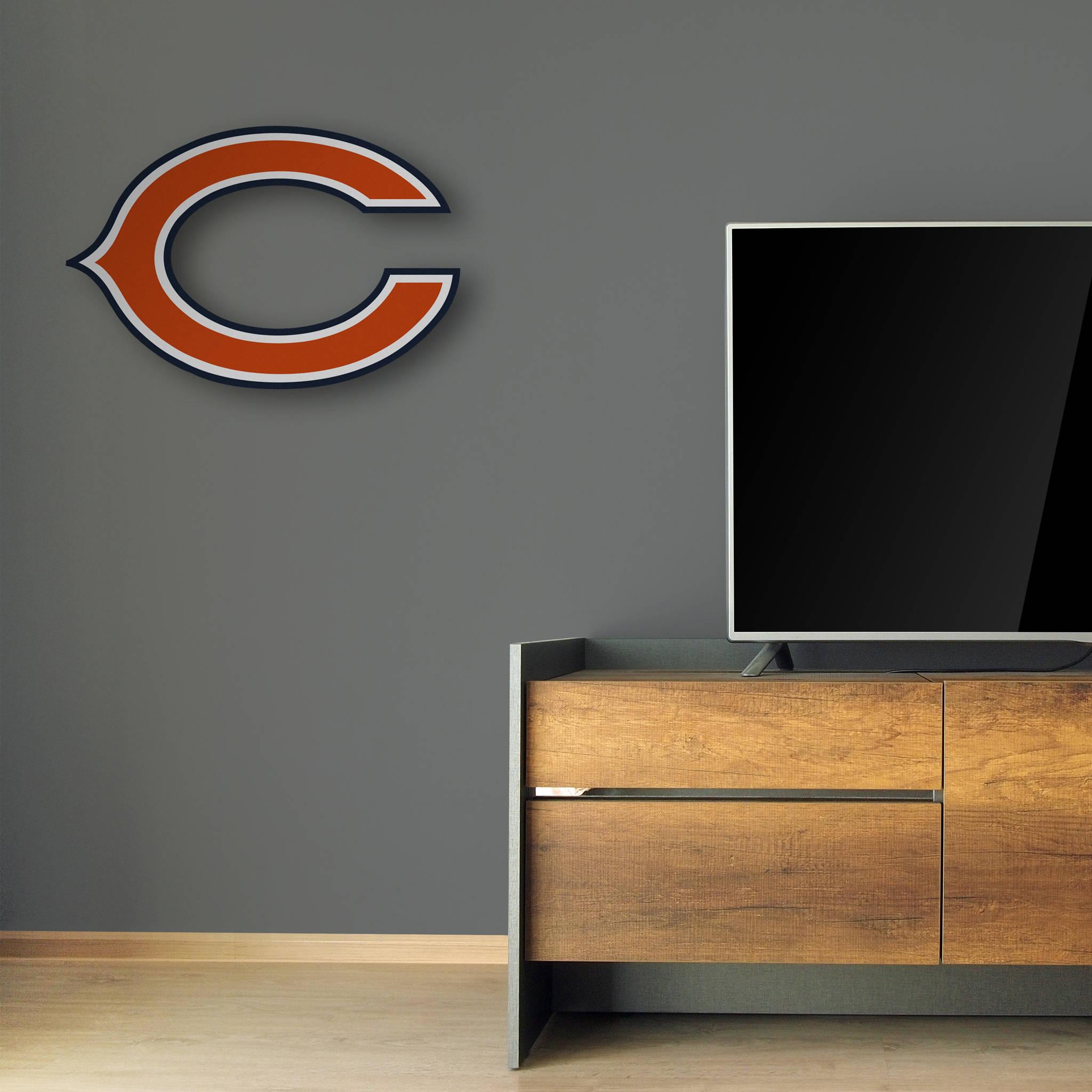 Exceptional Chicago Bears Decor|Wall Decor|Boy Room Decor|Boy Football Decor|Teen