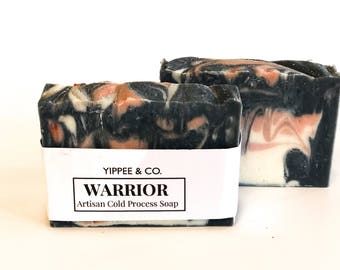 Warrior, Artisan Cold Process Soap, Handmade Soap