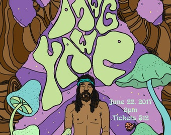 Dawg Yawp Meditation Poster