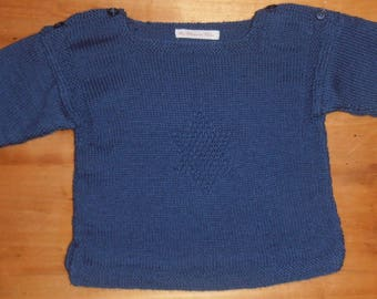 Navy star sweater size 18 months/2 years