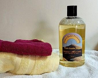 Plain Unscented 16 fl oz Liquid Castile Soap