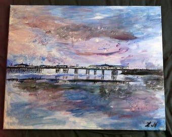 Brighton West Pier Acrylic on Canvas