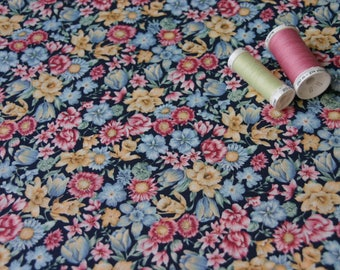 Patchwork fabric flowers English country Garden Collection