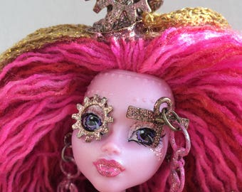 """Miss Laura Steem - OOAK 12"""" Collectible Doll Monster High"""
