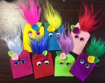 Colorful Finger Puppets! Set of 5