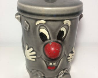 "Retro 1970s 'Dusty Bin"" Moneybox"