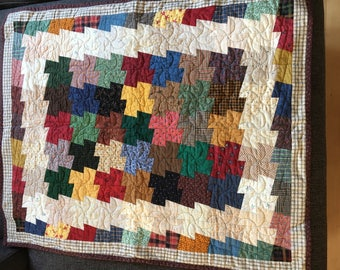 Little Quilt - squared pinwheels