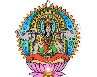 Lakshmi sticker