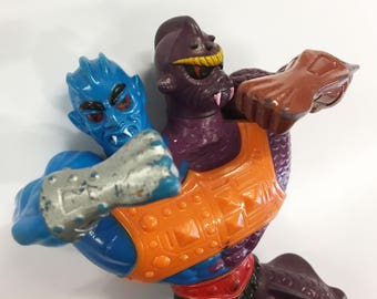 Two Bad - Vintage He-Man MOTU Masters of the Universe, 80s Action Figure Rare Toys