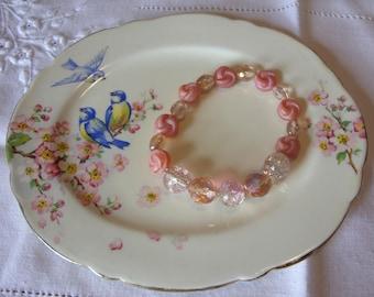 Elastic Pink Bracelet