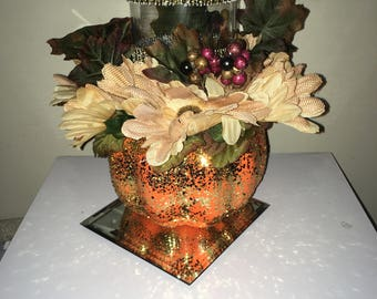 Fall Decorative Candle Holder
