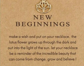 "Necklaces for woman "" New Beginning """