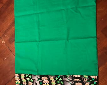 St. Patrick's Day pillow case