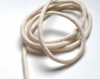 Cordon bourrelet en coton 4mm fabrication passepoil ou laçage