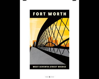 West Seventh Street Bridge, Fort Worth
