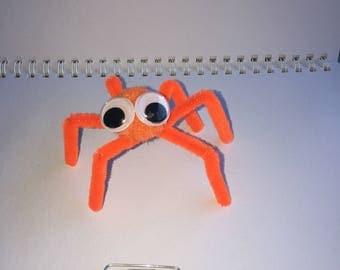 Small Orange Spider