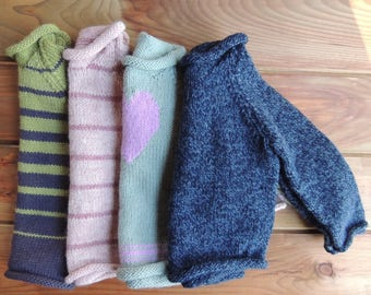 Knit Toddler Sweater 2T - Hand Knit Sweater