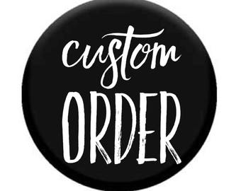 Do Not Order This listing Unless The Shop has issued you a custom#.