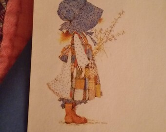 Vintage Stationery Collection ~ Blue Holly Hobbie Mini Collection