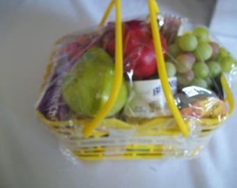 "18"" doll sized Shopping Basket"