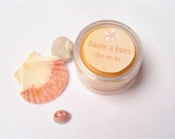 Lip balm flower Islands - 100% natural shea butter - 10 ml or 8 g