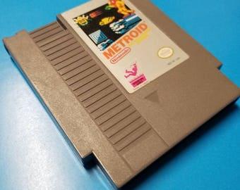 Metroid Nintendo Nes Game Cartridge 1985