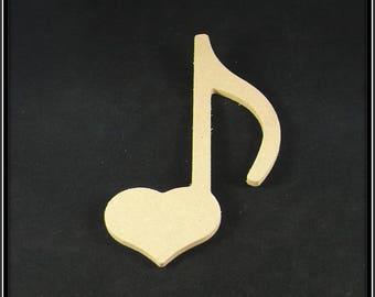"medium form ""musical heart note"" blank"