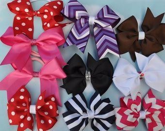 Hair Bows Group of 10