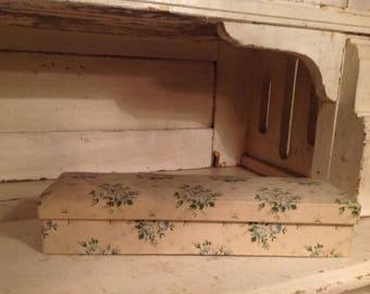 antique fabric box