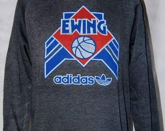 Adidas Vintage 1980's Patrick Ewing Sweatshirt Size Small