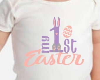 First Easter Onesie - Easter Onesie - My first easter onesie