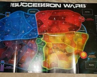 Succession Wars board game vintage 1987