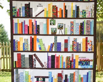 Many books Library Quilt